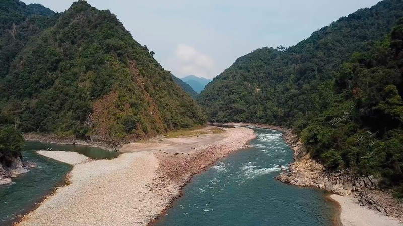 India 2018 Arunachal Pradesh Rivers Kamla and Subansiri