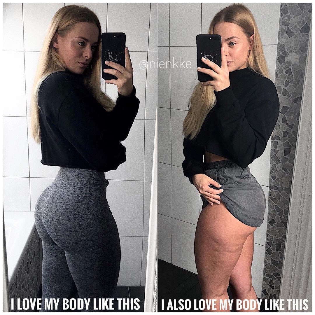 Толстая или спортивная?