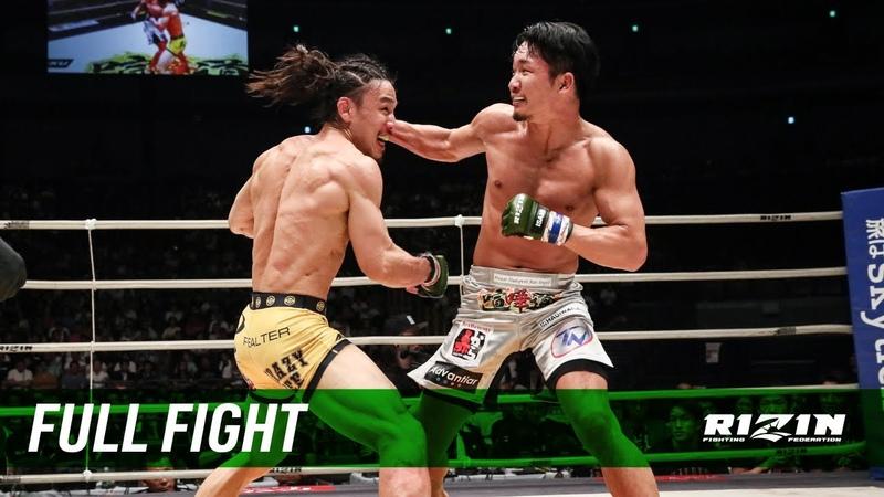 Full Fight | 矢地祐介 vs. 朝倉未来 / Yusuke Yachi vs. Mikuru Asakura - RIZIN.17