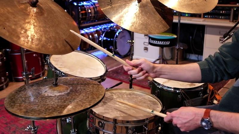 BOVID Full animal skin drum set demo