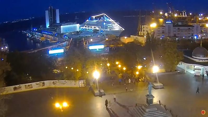 Круизный лайнер AMERA в Одессе Odessa ONLINE ᴴᴰ