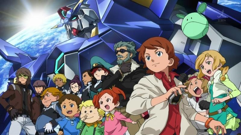Обзор вселенной Gundam. Часть 17: Gundam Age...Gundam Age...Gundam Age