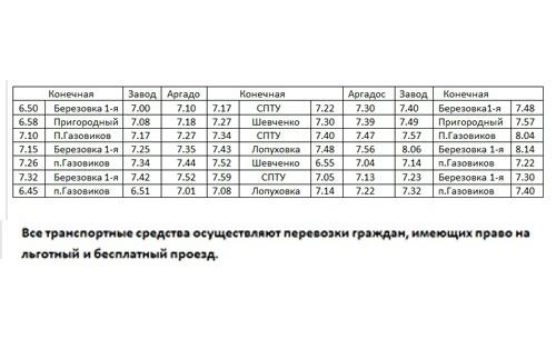 Петровское автотранспортное предприятие с 9 апреля меняет график движения общественного транспорта по городским маршрутам