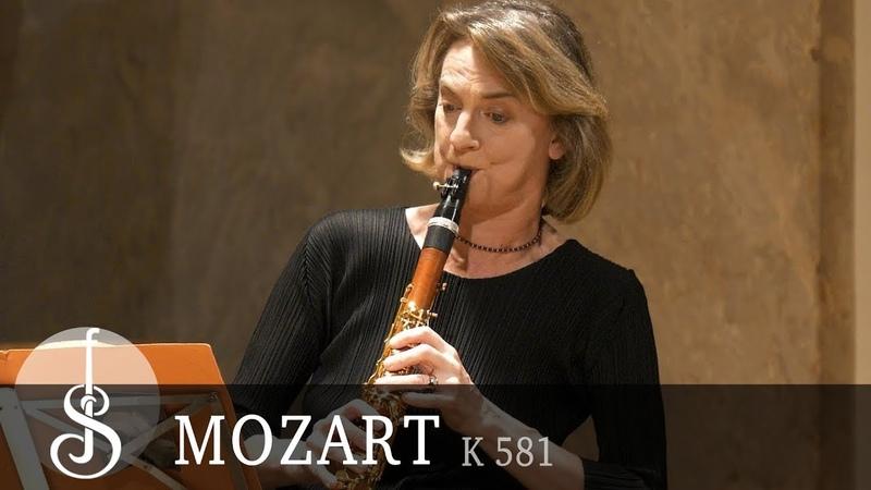Mozart Clarinet quintet K581 in A major Armida Quartet Sabine Meyer