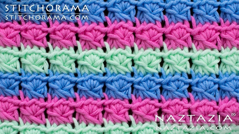 Faux Fake Broomstick Lace Without a Knitting Needle Learn How to Crochet by Naztazia