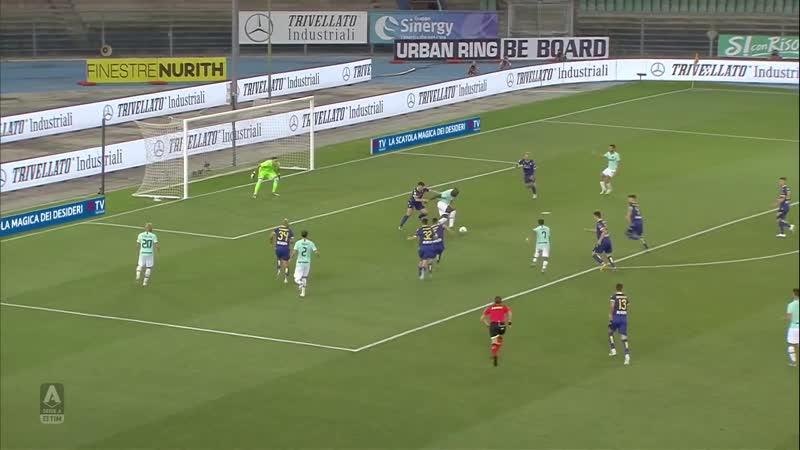 Hellas Verona vs Inter Milan. Serie A TIM. Верона - Интер Милан