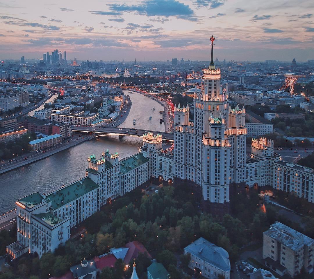 Москва после заката   #фото@mosc1
