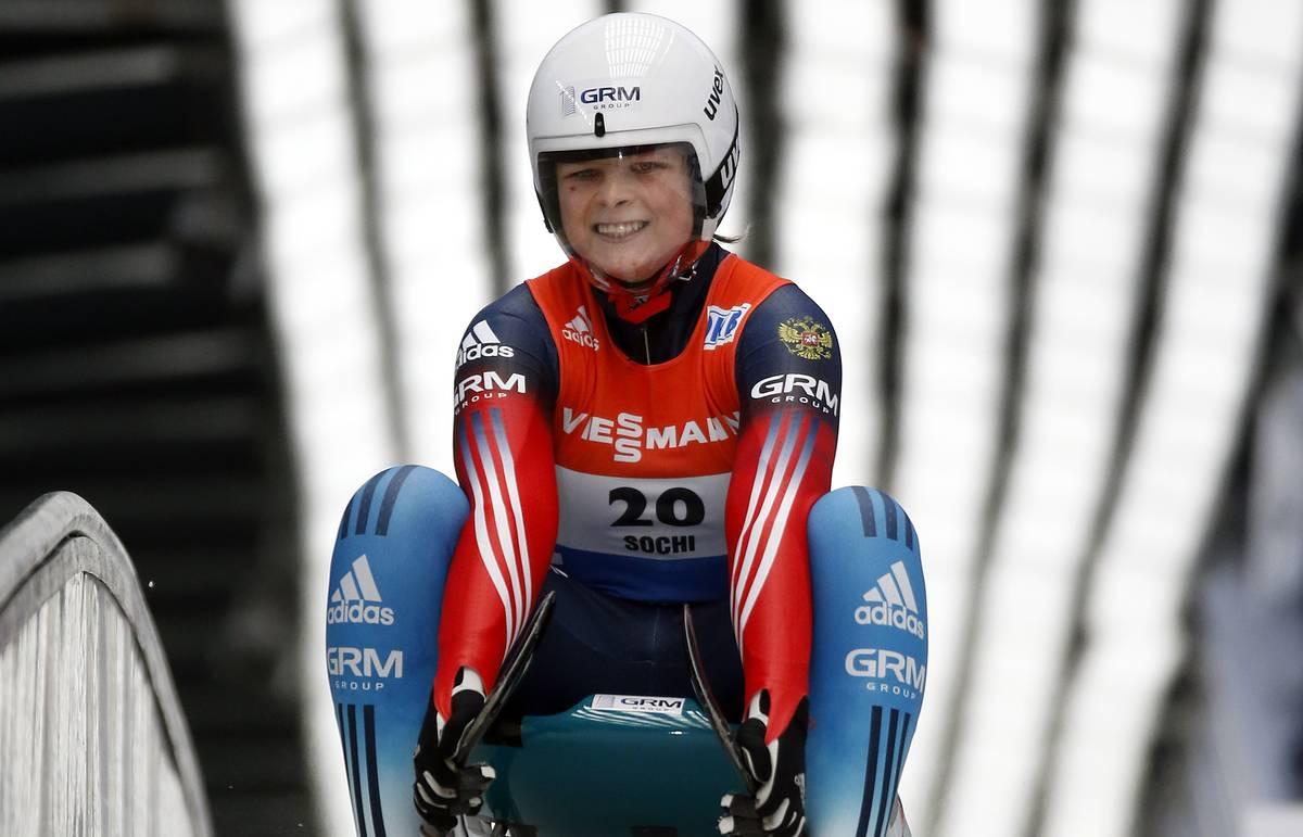 Дмитровская саночница впервые выиграла медаль чемпионата мира