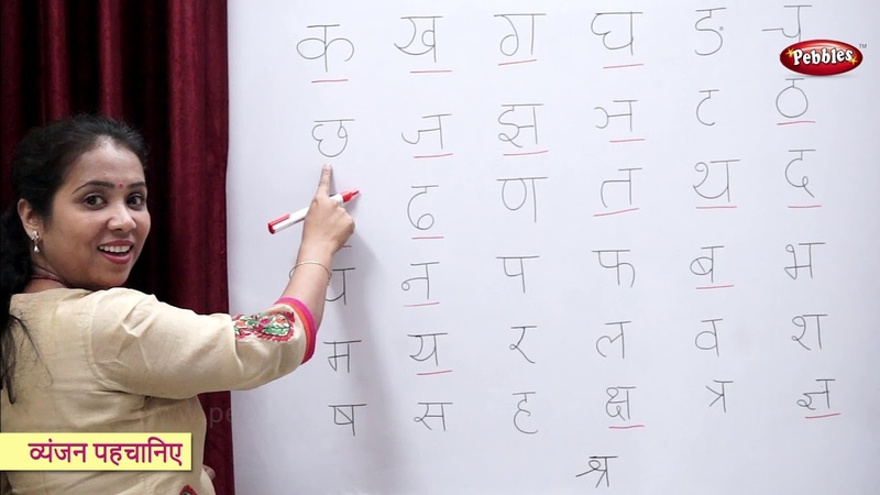 Recognize Hindi Alphabets | Hindi Varnamala