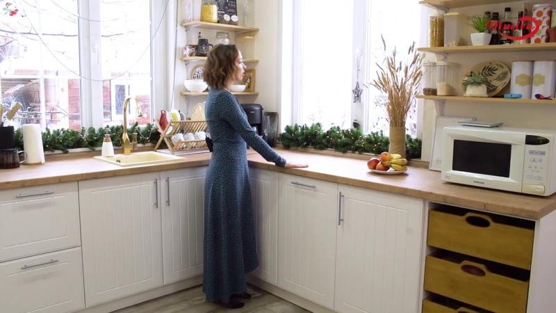 Выпуск 19 Обзор кухни в частном доме