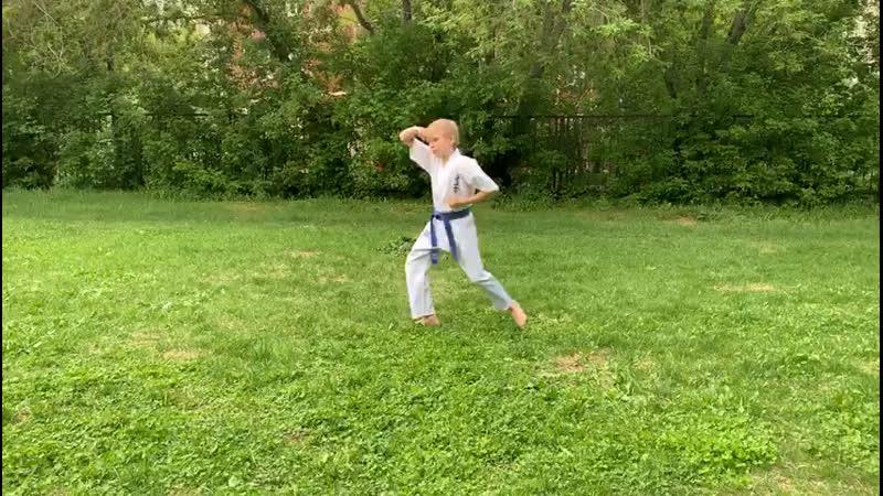 Рау Алексей, 10 лет, 7 кю, Пинан соно Ичи, СК «Сибирский Дракон»