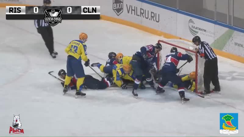 Обзор второго матча серии 1 4 финала плей офф Красноярские Рыси Чебоксары