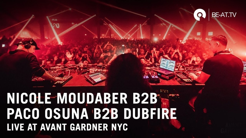 Nicole Moudaber b3b Dubfire b3b Paco Osuna @ MoodRAW | Outpost NYC (BE-AT.TV)