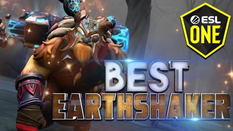 BEST Earthshaker Moments of ESL Los Angeles 2020 - Dota 2