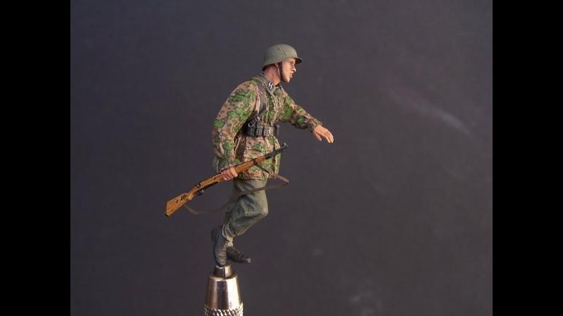 Painting 1 35 Alpine Miniatures WSS Infantryman 2 Part 1