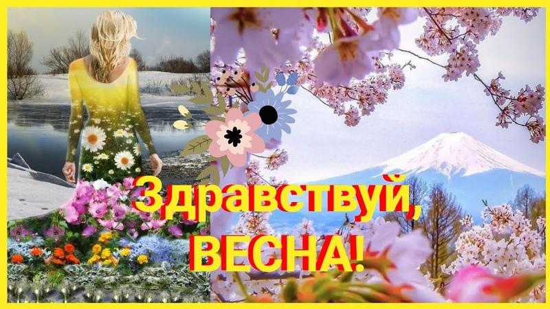 ВЕСНА ПРИШЛА Красивая музыка для души и хорошего настроения Relax music Летим со мной