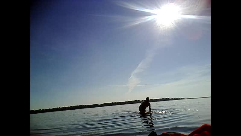 плаваю в реке Северной Двине видео 3