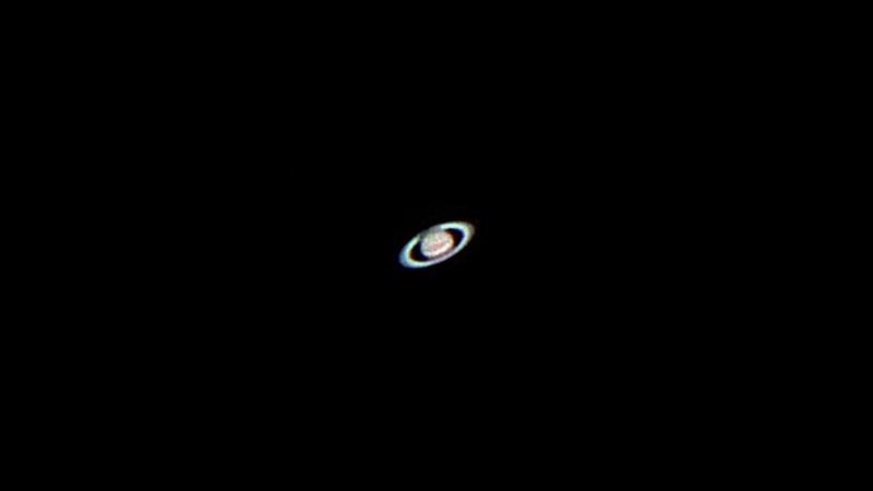 Jupiter, Saturn, Mars (4 August 2018)