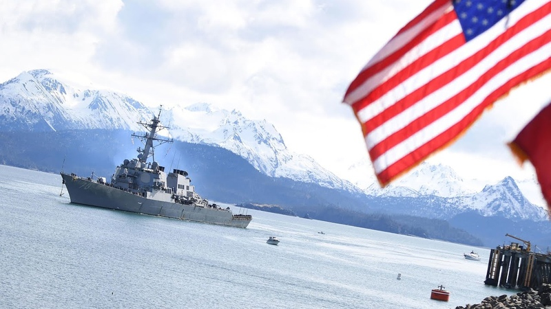 28 февраля 2021г РФ превратила Охотское море в ловушку для американских кораблей
