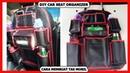 DIY CAR SEAT ORGANIZER - CARA MEMBUAT TAS MOBIL - CAR SEAT ORGANIZER TUTORIAL