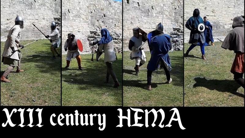 13th Century Duels Spears Targes Masses Shields Swords Bucklers ACTA Academie AMHE HEMA