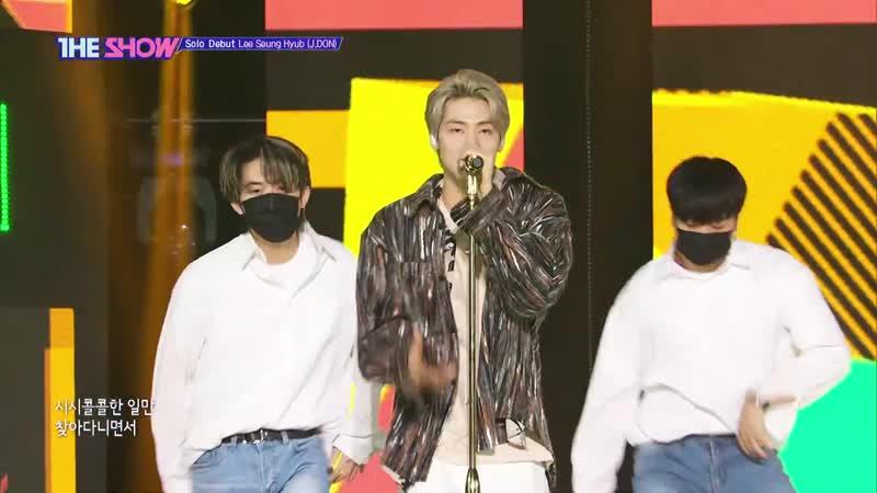 Lee Seung Hyub Clicker @ The Show 210302