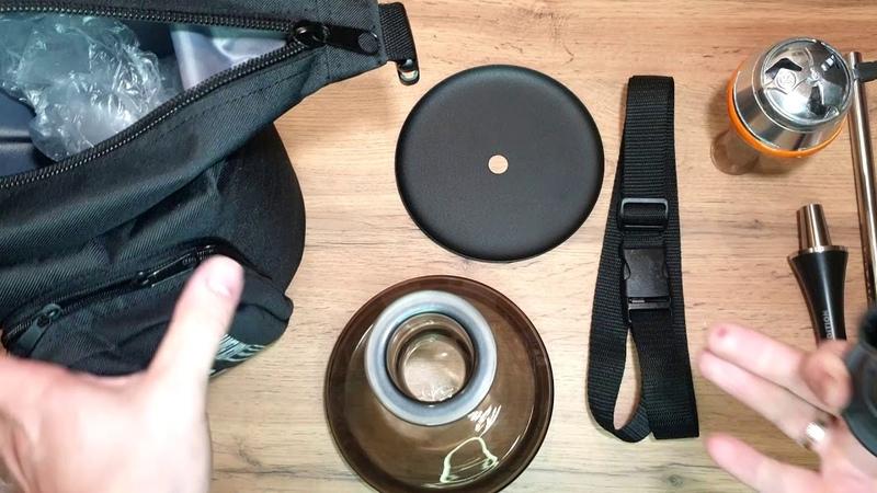 Spitz Unboxing - Распаковка кальяна Шпиц Компактный кальян с сумкой