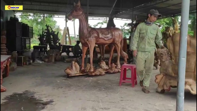Chuyển giao máy cnc điêu khắc gỗ công ty Thái Hồng Sơn Bình Thuận Máy CNC Đông Phương