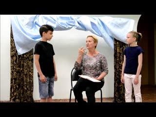 Театральная студия Резонанс. Серия уроков Актёрского мастерства. урок 1