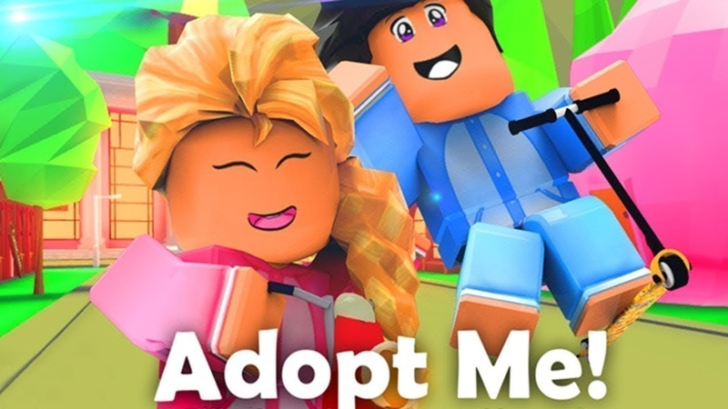 Играю в Adopt me адопт ми крутой режим заходи