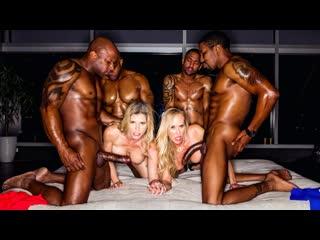 Cory Chase, Brandi Love - BBC Club (MILF, Big TIts, Hardcore, Blowjob, Group Sex, Standing Doggystyle)