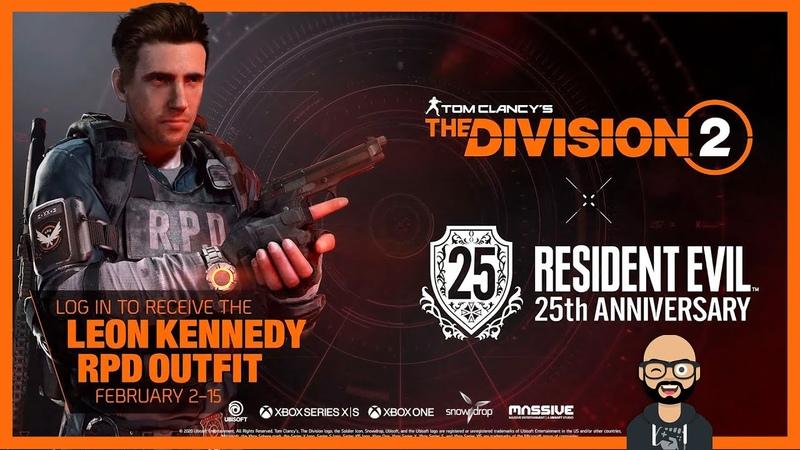 Tom Clancy's The Division 2 Trailer Evento Resident Evil 25 Aniversario🕹🎧💻 | ER CHAMO