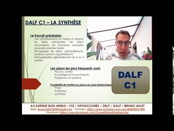 DALF C1 PRODUCTION ECRITE COMMENT FAIRE UNE SYNTHESE DE DOCUMENTS