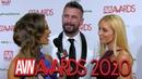 Manuel Ferrara Kayden Kross: 2020 AVN Red Carpet Interview