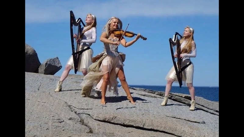 Kid on The Mountain Celtic Heart -feat. Máiréad Nesbitt Celtic Violinist Harp Twins