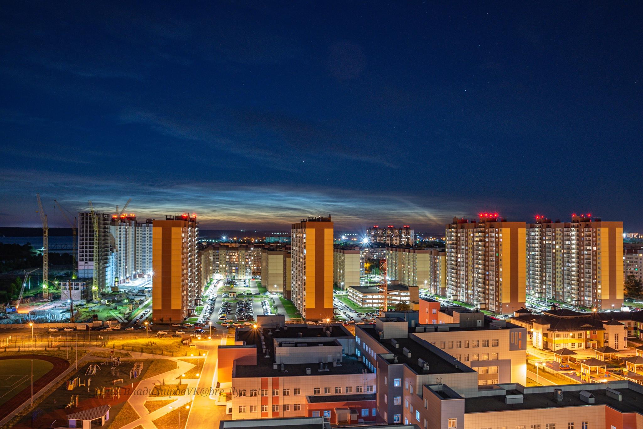 Воронеж, Отрожка и серебристые облака