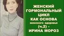 Женский гормональный цикл как основа женского здоровья. Климакс (ч.2), - Ирина Мороз (КН, 2018)