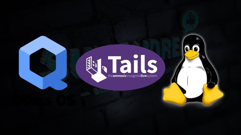Проблемы загрузки, установки Tails OS, Qubes OS, GNULinux...