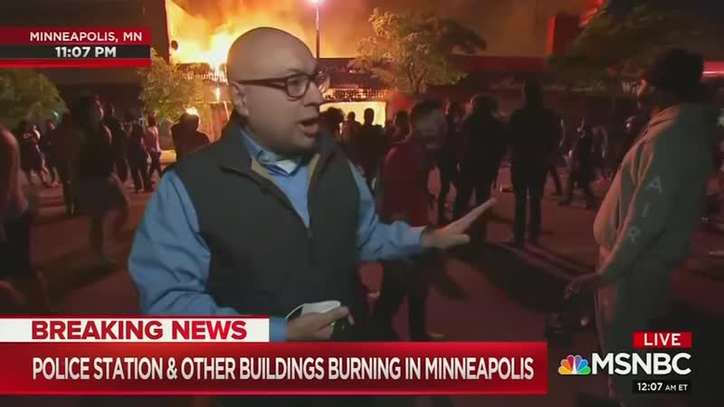 TV Journalists Defend Excuse Five Nights of Riots MRC
