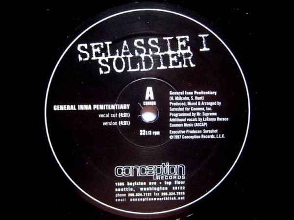 Selassie i soldier - general inna penitentiary 1997