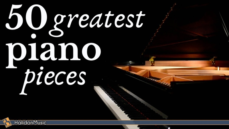 The Best of Piano 50 Greatest Pieces: Chopin Debussy Beethoven Mozart