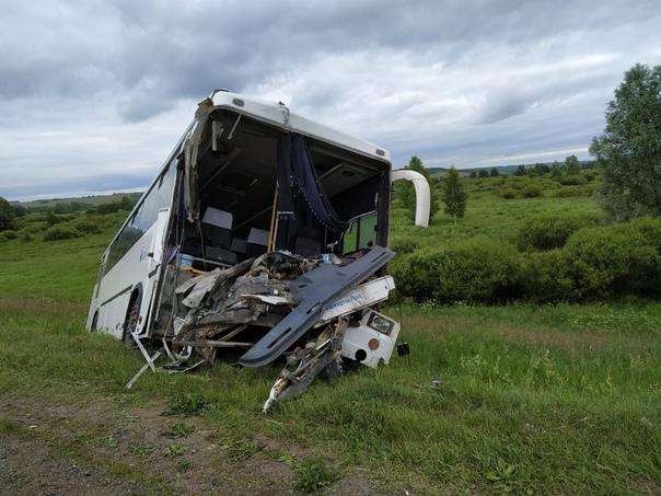 По предварительной информации, на 7 километре автодороги Бирск-Тастуба-Сатка...