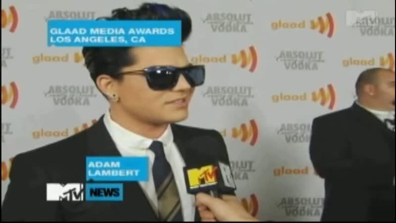 2010 04 17 MTV News Adam Lambert Picks Idol Faves And Talks Tour