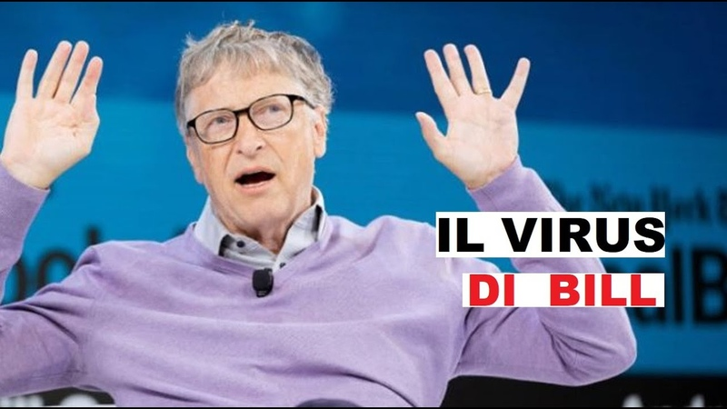 Bill Gates ha creato il coronavirus Il complotto di Mister Microsoft