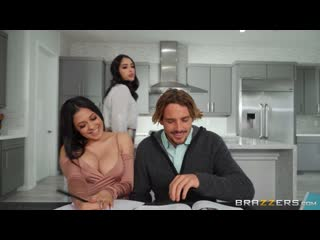 Serena Santos, Vanessa Sky (The Threesome Tutorial) [2020, Athle