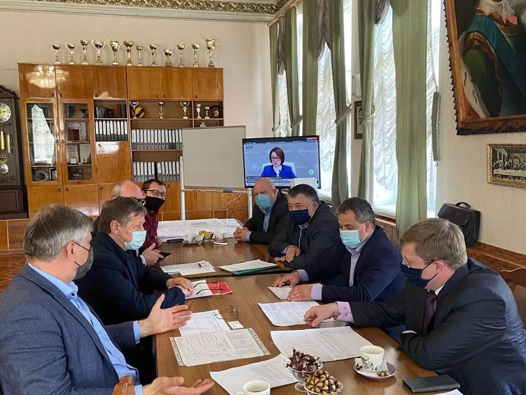 Сегодня Петровск с рабочим визитом посетил руководитель ООО «Газпром межрегионгаз Саратов» Вячеслав БАШУНОВ