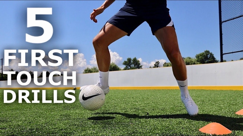 5 Individual Drills To Improve First Touch Individual First Touch Training Session For Footballers
