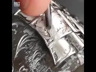 Удивительно красивые часы с гравировкой - Проект  Дача
