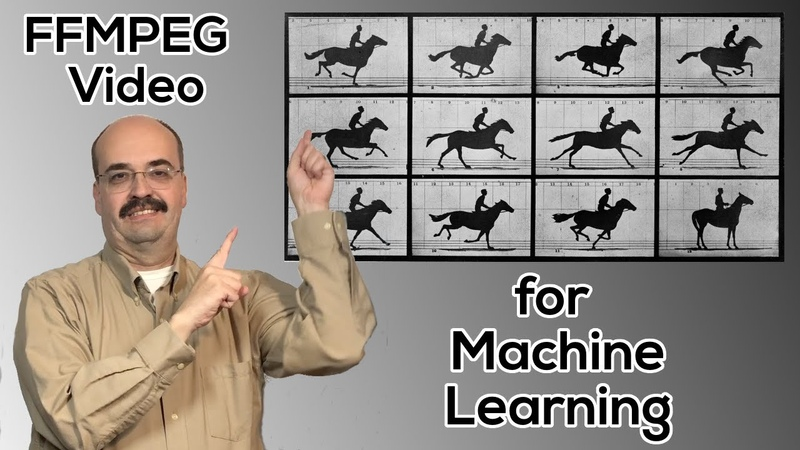 Using FFMPEG to Encode Decode Video for Offline Video Based Machine Learning