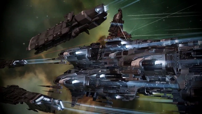 EVE Online The Russia и United Fleet CTA